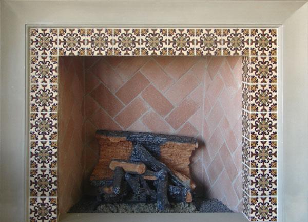 malibu hand painted ceramic tiles