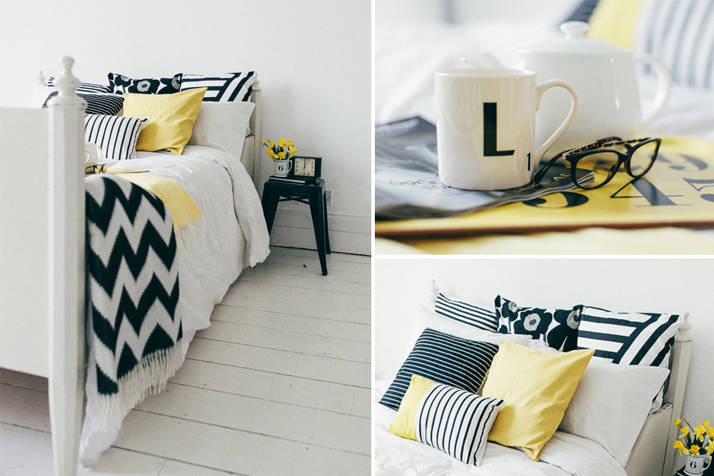 title | Black White And Yellow Bedroom Ideas