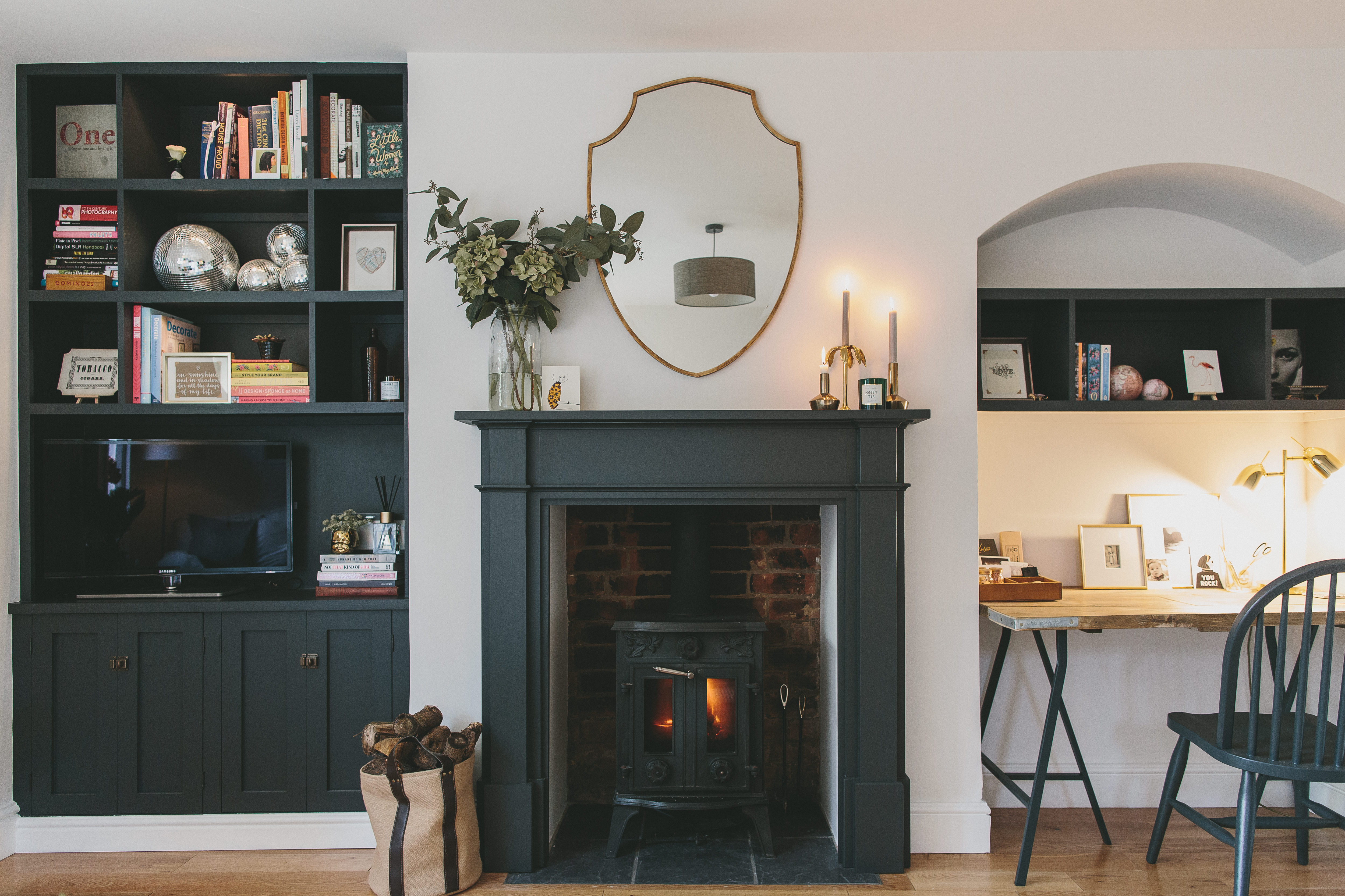 How I Saved 700 On My Alcove Shelving Rock My Style Uk