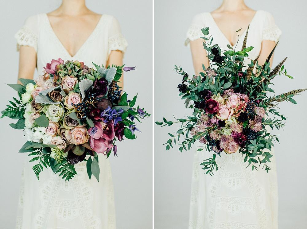 Autumn & Fall Wedding Bouquets For Stylish, Modern Brides