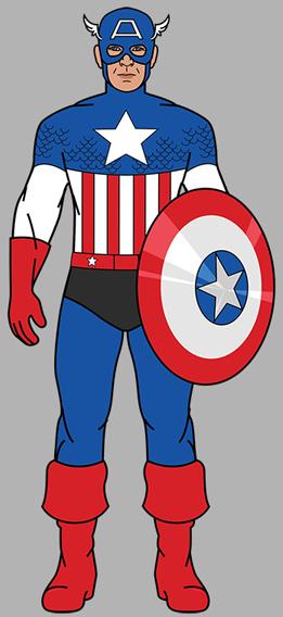 Captain-America-1954