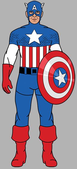 Captain-America-1964