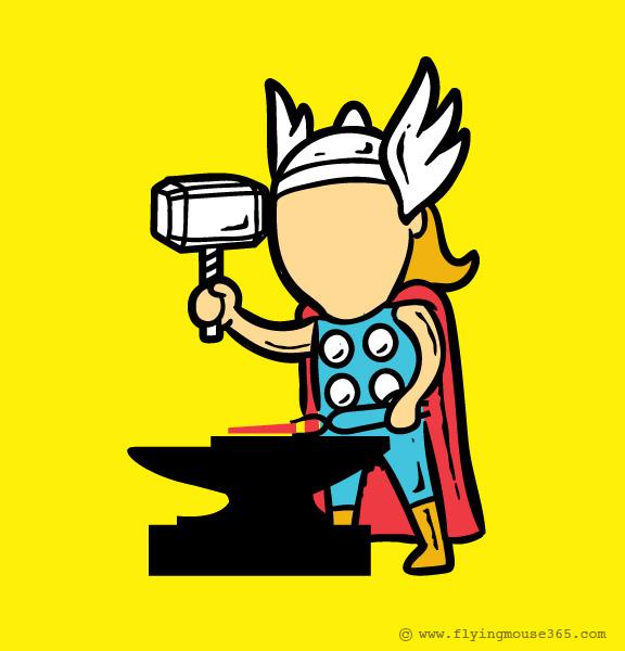 supereroi e il lavoro