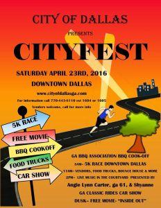 Cityfest Dallas GA 2016