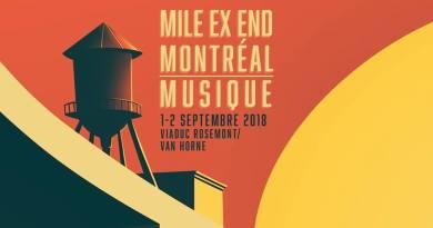Mile Ex End Festival 2018: Broken Social Scene, Eddy de Pretto et Hubert Lenoir seront de la partie