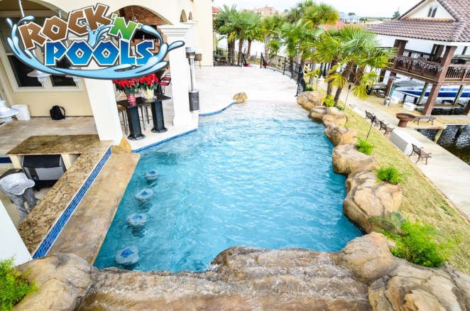 Rock'N'Pools Lakeshore Estates Pool Banner