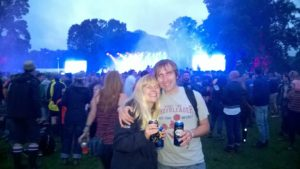 Me and Dan at Kendal Calling