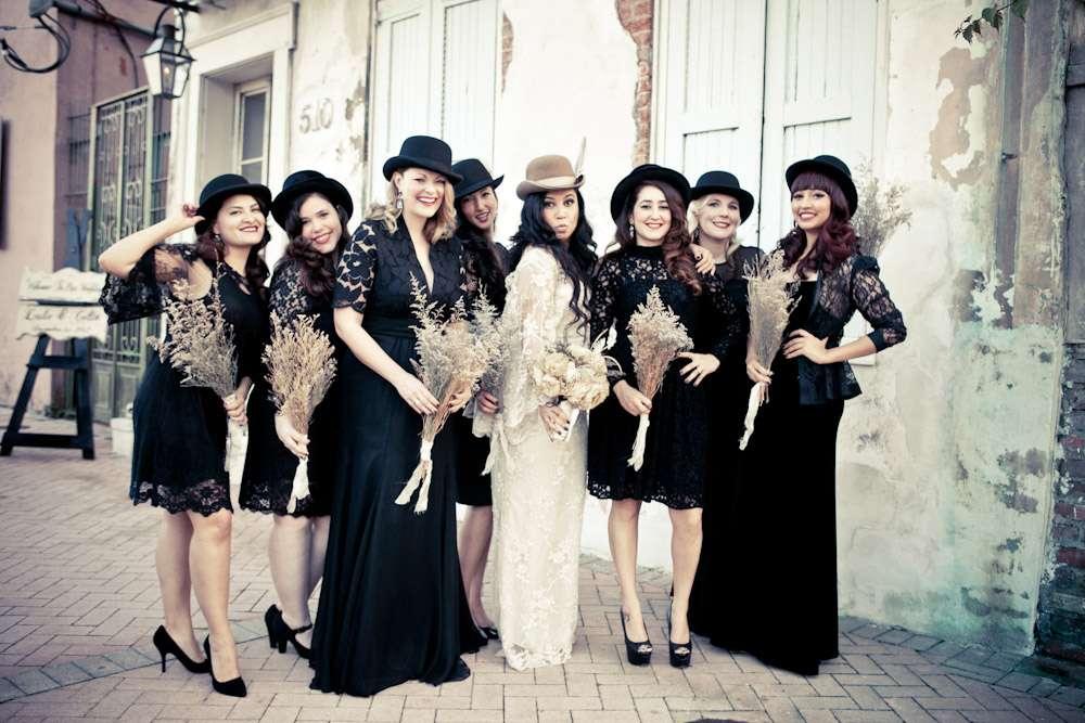 New Orleans Masquerade Wedding: Leslie & Collin · Rock N