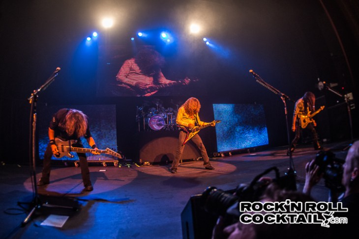 Megadeth at the Warfield in San Francisco shot by Jason Miller-21