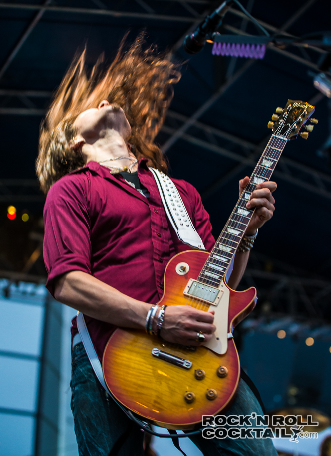 Tesla's Dave Rude Monsters of Rock Cruise