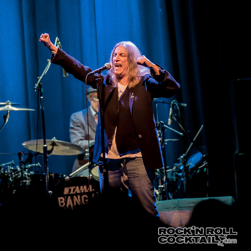 Patti Smith at The Fillmore Photographed by Jason Miller-5
