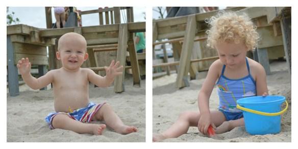 Little Bird By Jools Beach Scene Swimwear