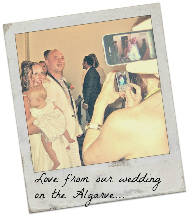 Ruth and Jonny Wedding Postcard