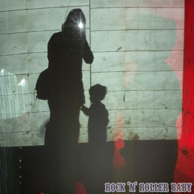 And this is me and my boy Banksy-ing it up at The Science Museum! I just love this picture taken when we were dancing against their heat sensitive light wall!