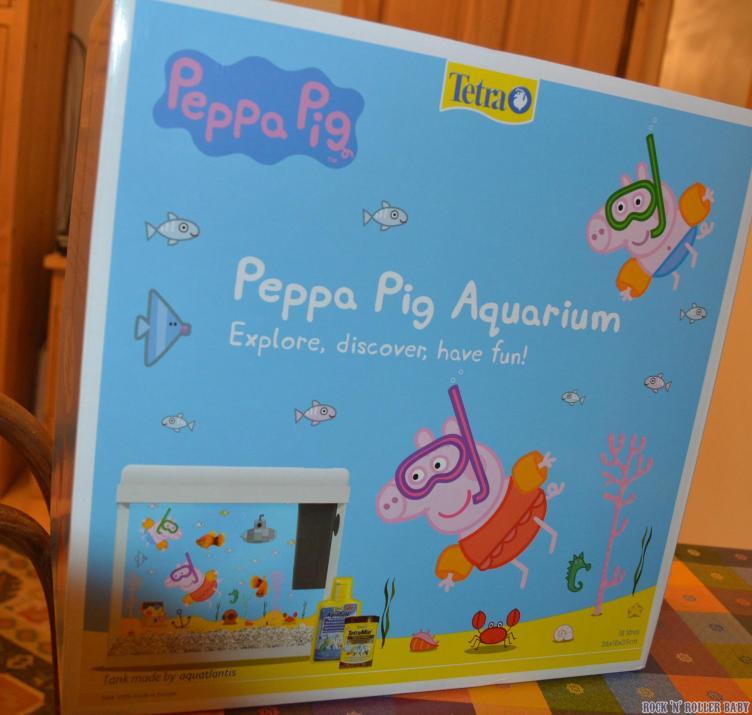 The Peppa Pig Aquarium by Tetra!
