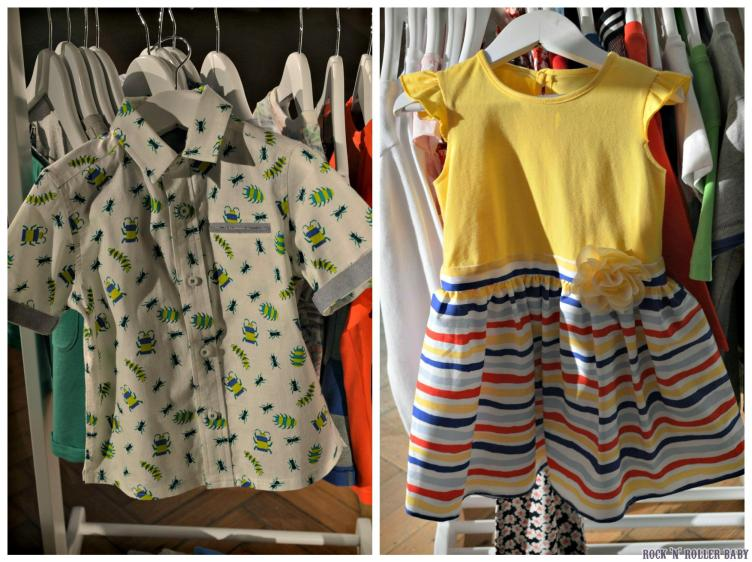 My two top buys are this bug shirt  and yellow dress with stripes which I would actually wear myself!