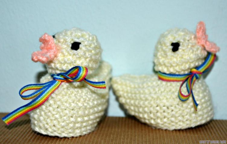 The finished chicks!