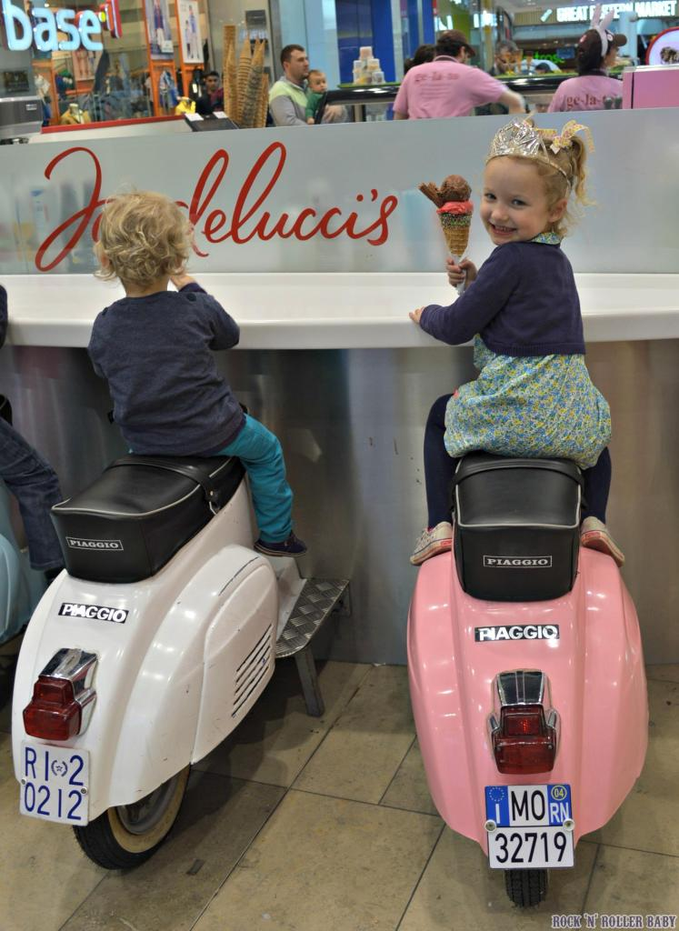 And they become free very quickly as no one wastes time eating gelato this good so we got a seat each pretty swiftly!