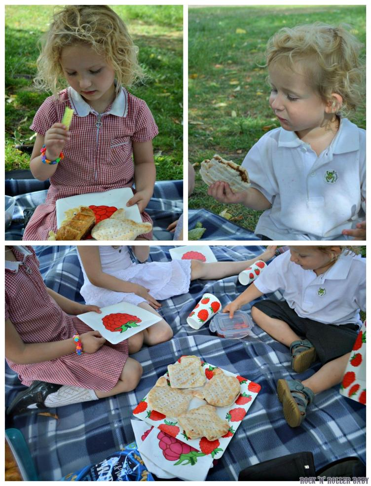 We had a fab picnic in the park and the sandwich thins shapes went down VERY well indeed!