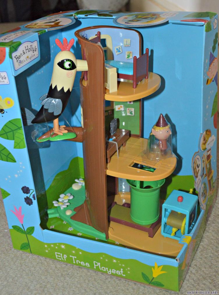 The Ben and Holly Elf Tree Playset!