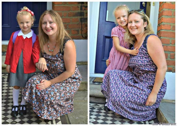Me and my gal on her first and last days of her reception year!