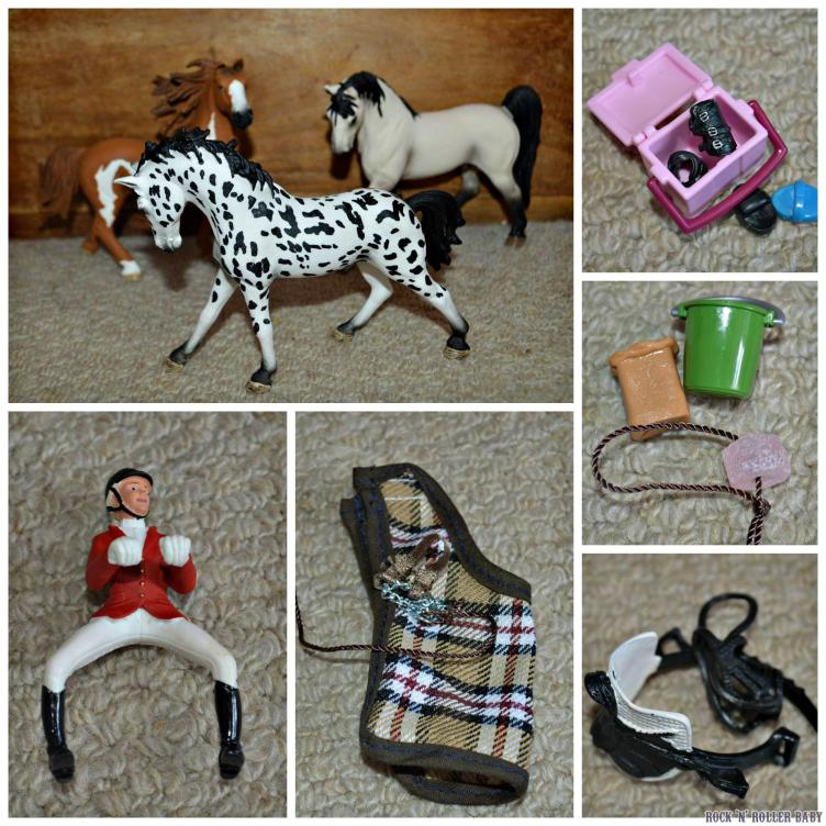 As you can see, the details on the animals and accessories is very detailed!