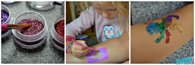 Florence enjoyed tattooing Daddy!