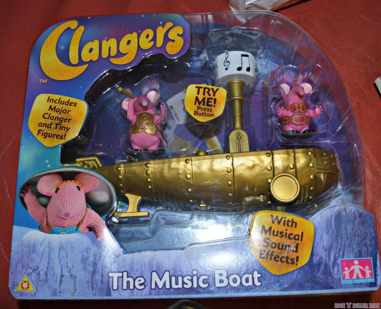 The Clangers Musical Boat!