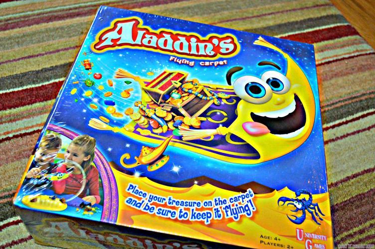 Alladin's Flying Carpet Game!