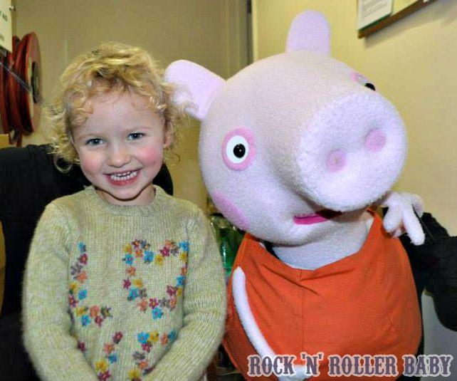 On one of our visits to Peppa Pig Live!