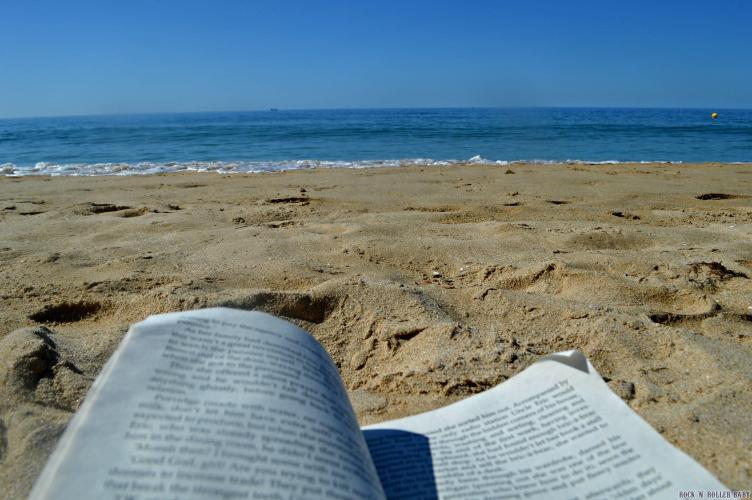 If only every page could be read under cloudless skies and sunshine...