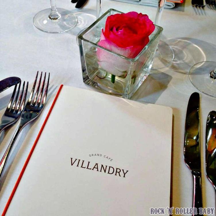 Lunch at Villandry was delicious!