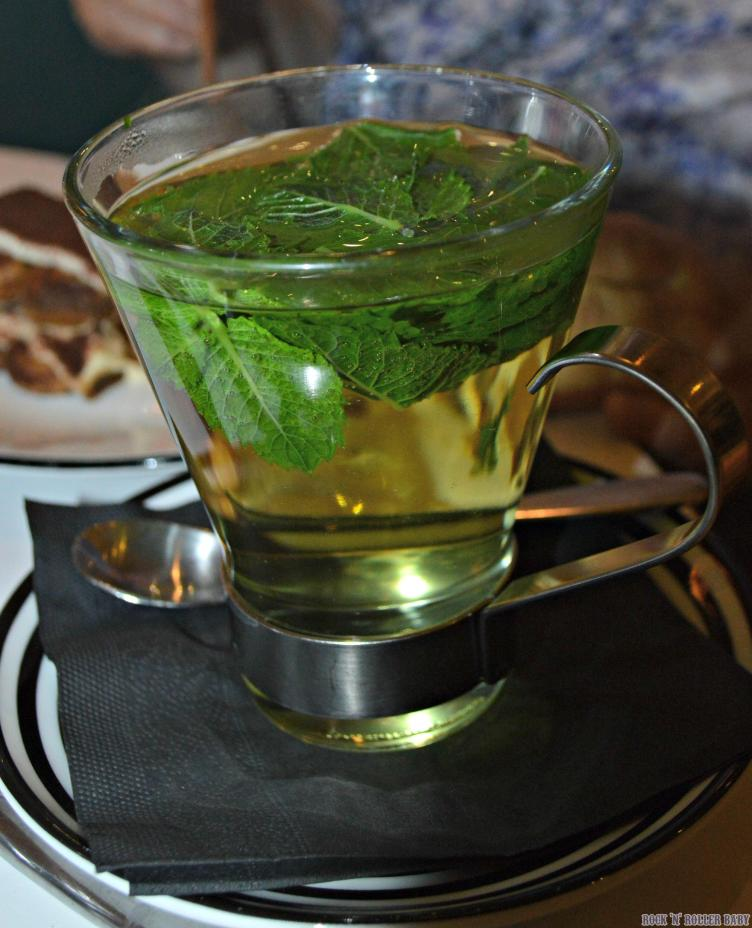 Mint tea. My fave way to finish a meal!