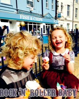 The children have loved having ice cream here in the past few week's too!