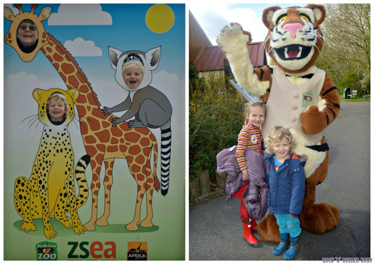 A very cold but very enjoyable day out at Banham Zoo for my Mum's birthday - here's to many more (birthdays and days out at Banham Zoo)!