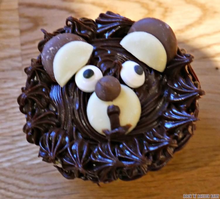 And then we sent the bear back to school with, well, his face on some cakes for the other children to enjoy!