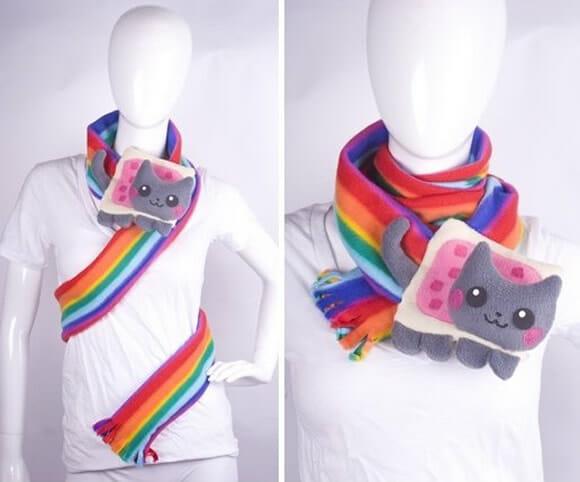 Cachecol Nyan Cat