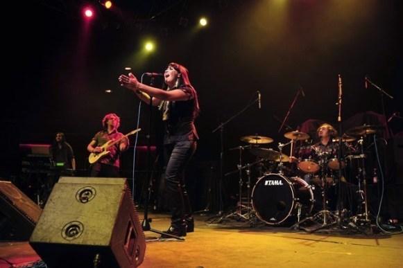 Crisálida abrió el concierto de The Gathering en Chile | fotógrafo: Javier Valenzuela