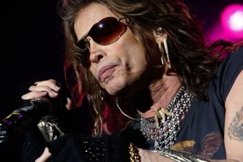 Steven Tyler, vocalista de Aerosmith | Fotógrafo: Paula Farías Lorca