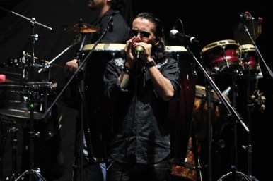 El Cruce abrió el concierto de ZZ Top en Chile | Fotógrafo: Javier Valenzuela