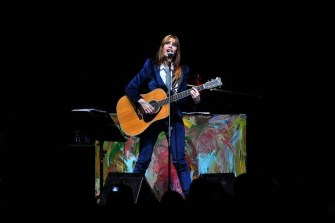 Fabi Cantilo abrió el concierto de Fito Páez en Chile | Fotógrafo: Javier Valenzuela