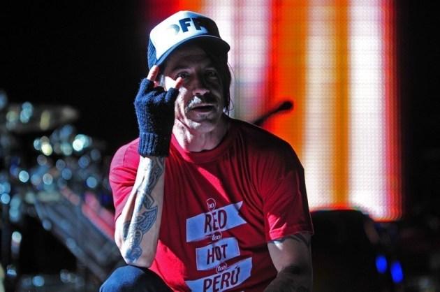 Red Hot Chili Peppers en Chile - Fotógrafo: Javier Valenzuela