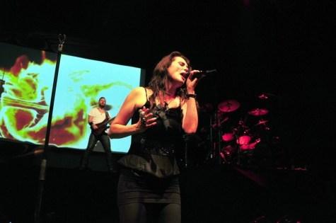 Sharon den Adel vocalista de Within Temptation - Teatro Caupolicán | Fotógrafo: Javier Valenzuela