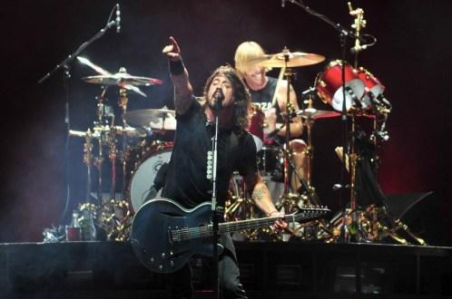 Foo Fighters | Lollapalooza Chile 2012 - Fotógrafo: Javier Valenzuela