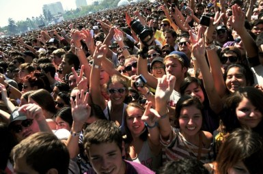 Foster the People | Lollapalooza Chile 2012 - Fotógrafo: Javier Valenzuela