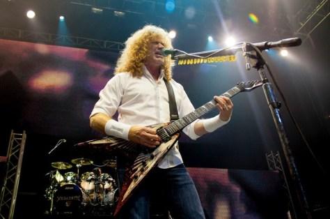Megadeth Chile 2012 | Fotógrafo: Juan Francisco Lizama L.