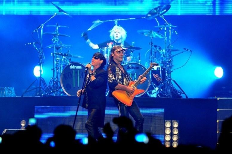 Scorpions en Chile - Fotógrafo: Javier Valenzuela