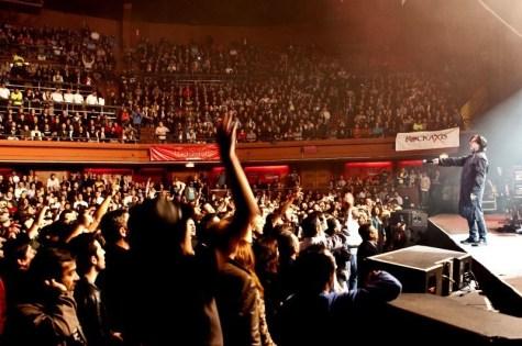 Marillion en Chile - Fotógrafo: Daniel Casado Bissone