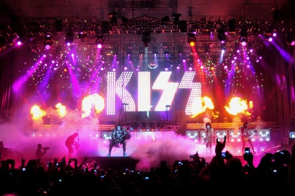 KISS - Maquinaria Festival Chile 2012 | Fotógrafo: Javier Valenzuela