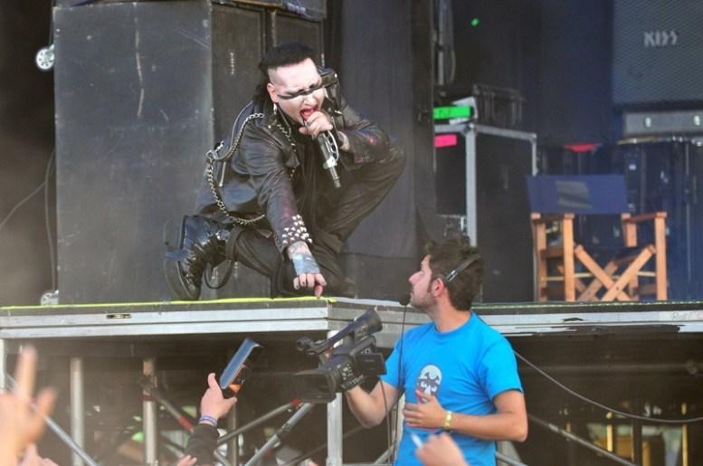 Marilyn Manson - Maquinaria Festival Chile 2012 | Fotógrafo: Javier Valenzuela